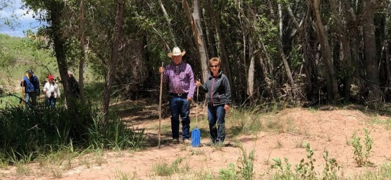 Joe and Carmen Auza - one of the last sheep ranchers in the state